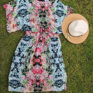 Madison Leigh Summer Floral Dress